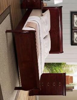 Cherry. Hot deal. New. SAME-DAY Delivery up to 30 miles Bedroom Set.Dresser Mirror Nightstand bed frame queen for Sale in Houston, TX