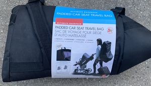 Car seat travel bag new! for Sale in Belvidere, IL
