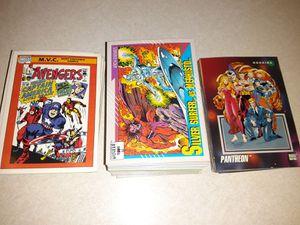1990-1992 marvel cards for Sale in Tulsa, OK
