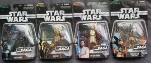 4 - Star Wars - The Saga Collection - 3 3/4 Action Figure Collection for Sale in Oakdale, CA