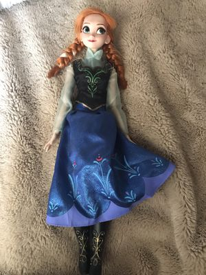 Ana Frozen Doll for Sale in Tustin, CA