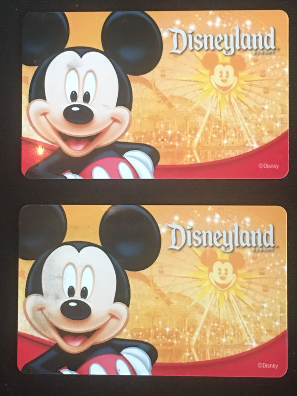 2-Day Disneyland Resort Park Hoppers Tickets (Ages 10+)