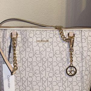 Calvin Klein Maybelle Monogram Logo Tote Bag for Sale in San Marcos, TX