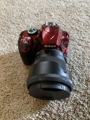 Nikon D3400, 4 lenses, & assorted accessories for Sale in Renton, WA