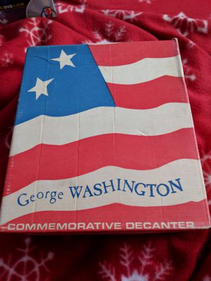 Vintage George Washington 1970s Decanter Make Offer Super Cool Collectible for Sale in Cleveland, OH