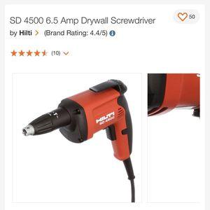 Hilti Drywall Screw Gun for Sale in Spanaway, WA