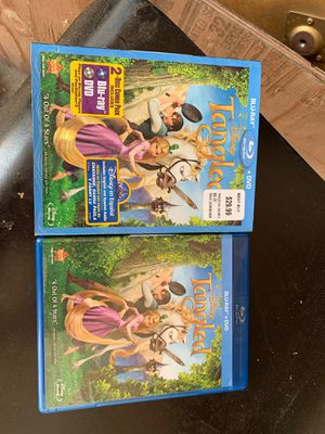 Blue-ray + DVD Disney Tangle movie for Sale in Anaheim, CA