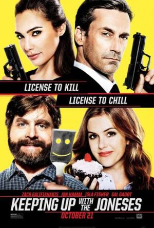 KEEPING UP WITH THE JONESES (HDX VUDU, HD MA, 4K ITUNES, HD GOOGLE) digital movie code. Instant delivery! Free Shipping! (DC4) for Sale in New York, NY
