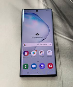 Samsung Galaxy Note 10 - 256 GB - Factory Unlocked - Excellent Condition for Sale in Everett, MA