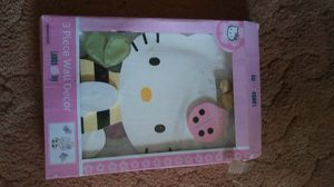Hello kitty wall decor for Sale in West Mifflin, PA