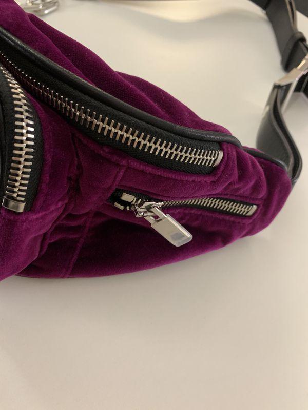Alexander Wang Attica Velvet Soft Fanny Pack Bag