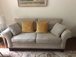 """TWO couches. Clean. 84""""L X 40""""W $140 each for Sale in Annandale, VA"""