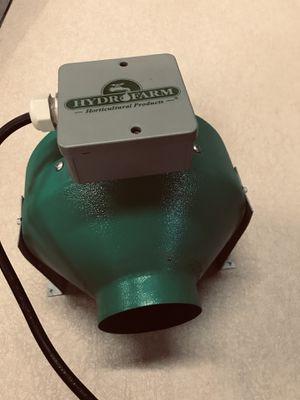 Hydro farm inline fan for Sale in Sacramento, CA