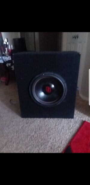 "Digital designs 15"" Subwoofer for Sale in Seattle, WA"
