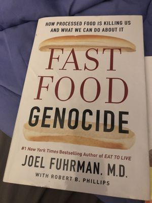 Fast Food Genocide Dr. Fuhrman Book for Sale in Woodland, CA