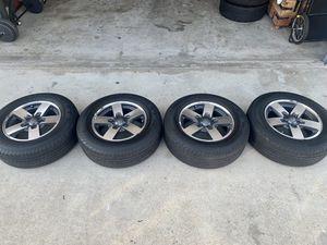 Yokohama Geolandar H/T G056 245/65R17 4x wheels and tires for Sale in Huntington Beach, CA