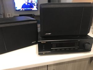 Pair Of Bose 301 Series IV Direct Reflecting Speakers and Sherwood AM/FM stereo Receiver RX-4105 for Sale in Atlanta, GA