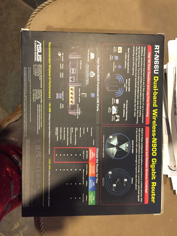 Asus dual band wireless n900 gigabit Router