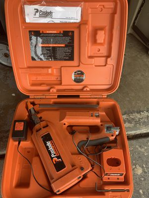 Two paslode nail guns with chargers, cartridges, and nails for Sale in Winter Park, FL