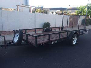 6.5 x 14 Heavy duty ramp gate utility trailer for Sale in Mesa, AZ