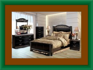 11pc Ashley bedroom set free delivery for Sale in Ashburn, VA