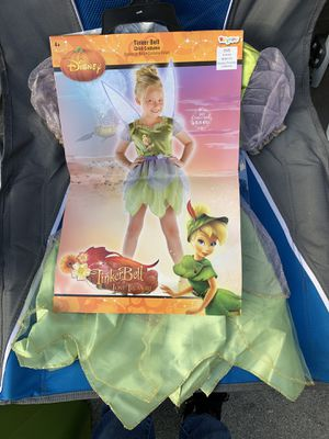 New size small (4-6x) Tinkerbell costume for Sale in Los Nietos, CA