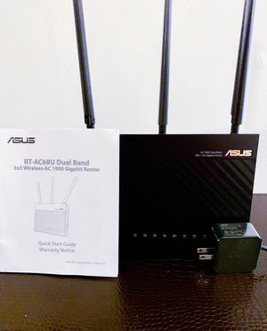 Asus AC1900 Whole Home Wireless Router - RT-AC68U - Dual-Band AiMesh for Sale in Los Angeles, CA