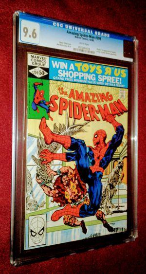 Amazing Spider-man*CGC*#209-VOL#1 for Sale in La Feria, TX