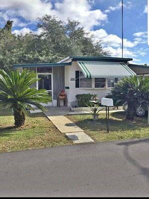 Nice mobile home RENTAL- MOVE IN READY. Rent with option to buy available. for Sale in Zephyrhills, FL