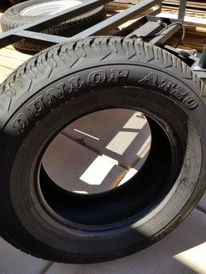 Dunlop AT20 P265 R17 Brand New for Sale in Scottsdale, AZ