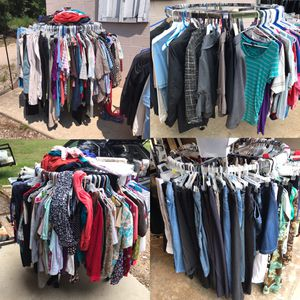Plus and regular size clothes $1 for Sale in Raleigh, NC