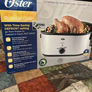Oster Roaster Oven With Self-basting Lid for Sale in Antioch, CA