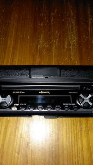 Pioneer DEH-230 CAR CD PLAYER MOSFET 50wx4 for Sale in Seattle, WA
