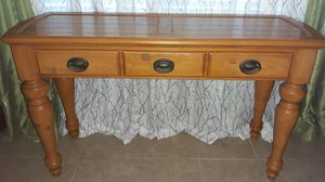 "Pine Console Table with Drawer, 51""Lx30""Hx18""D for Sale in NEW PRT RCHY, FL"