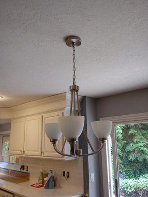 chandelier 2 bathrooms lights for Sale in Portland, OR