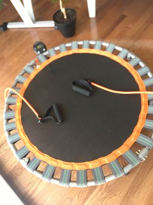 Mini trampoline / rebounder with jump counter! for Sale in Rockville, MD