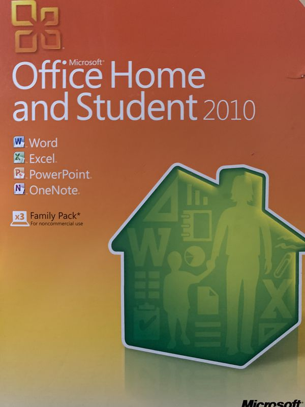 MS Office 2010 (3) licenses