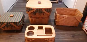 Longaberger Baskets from 1995 for Sale in West Covina, CA