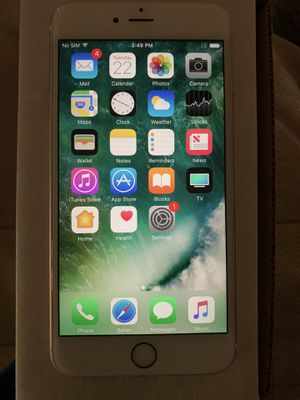 iPhone 6s Plus Model# A1687 for Sale in DEVORE HGHTS, CA