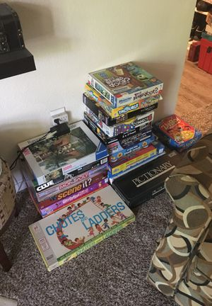 All kinds of board game s & puzzles over 150 for Sale in Irving, TX