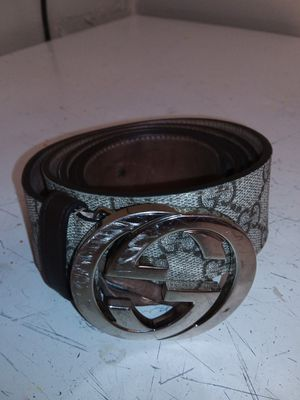 Gucci - gg supreme belt G buckle Gucci 115 men brown for Sale in Washington, DC