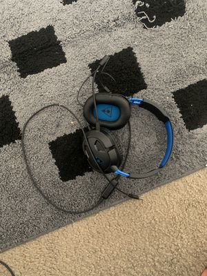 PlayStation turtle beach headset for Sale in Garner, NC