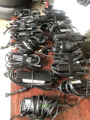25 different laptops genuines laptops chargers, hp, dell, Lenovo, dell, Sony, panasonic for Sale in Belle Isle, FL