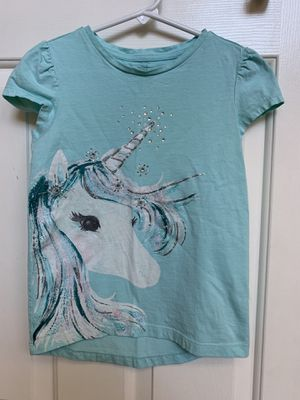 Unicorn shirt, Gymboree, girls clothes, size 7 for Sale in Glendale, AZ