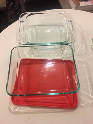 Pyrex Baking / Storage Dishes for Sale in Brooklyn, NY