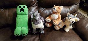 Stuffed animal lot for Sale in Aliquippa, PA