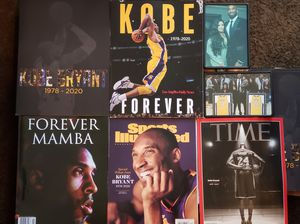 5 Sports Illustrated KOBE BRYANT, MAMBA FOREVER, TIMES KOBE BRYANT 2/20/20, LAKERS FOR LIFE , La Daily News kobe Forever for Sale in Los Angeles, CA