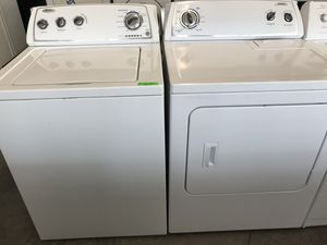 Whirlpool washer and electric dryer for Sale in Stockton, CA