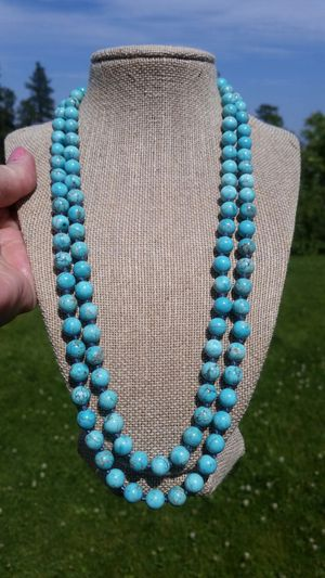 New Turquoise Bead Necklace for Sale in Wenatchee, WA