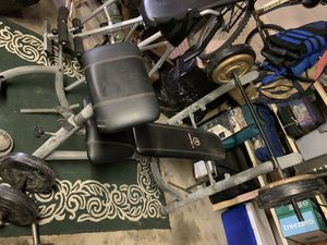 Bench and free weights for Sale in Bingham Canyon, UT